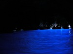 Creating the stunning blue of the Grotto Azzurra on the Isle of Capri.