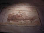 Exotic mural in a Pompeii brothel