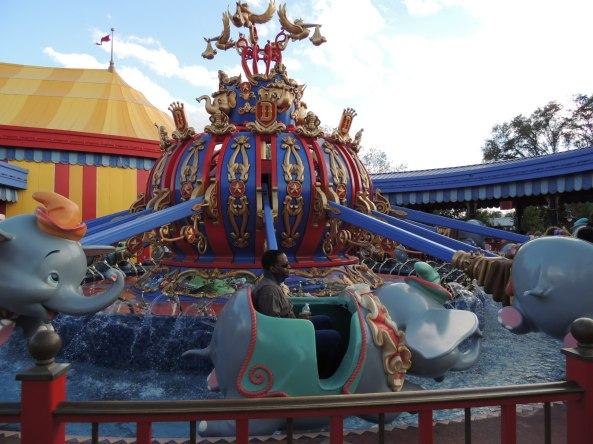 Dumbo the Elephant ride