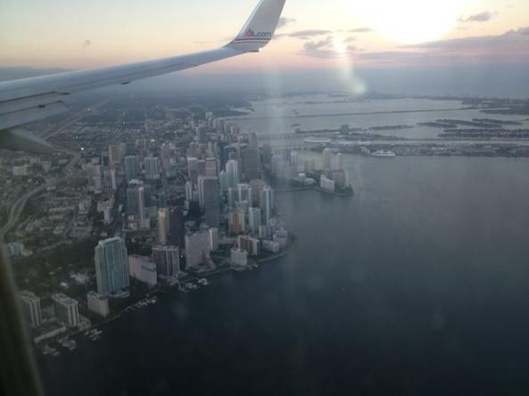Miami next stop.
